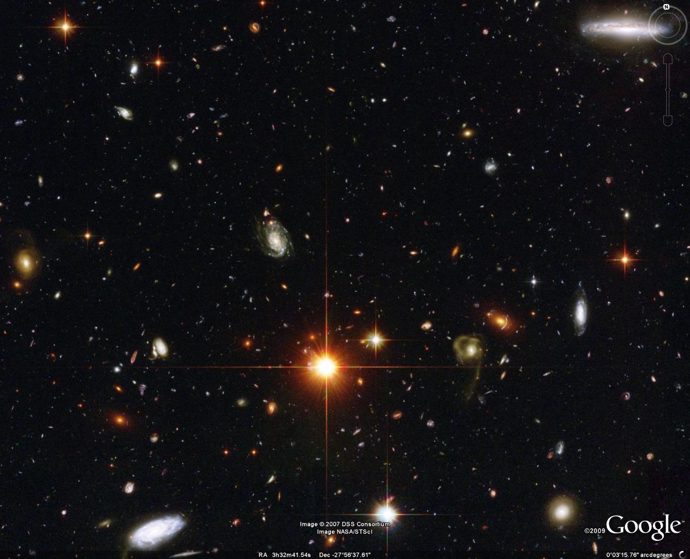كمية أخرى هائلة من المجرات (إضغط لتكبير الصورة)