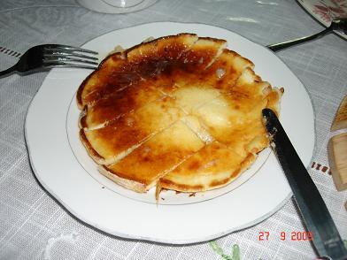 فطيرة وعسل Pancake