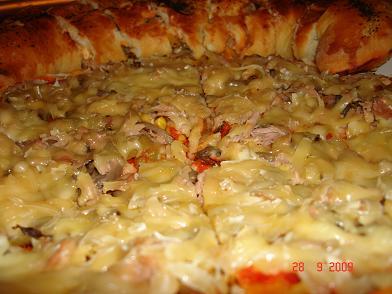 بيتزا نوعين!