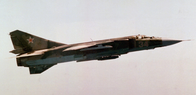 طائرة MiG23 السوفيتية