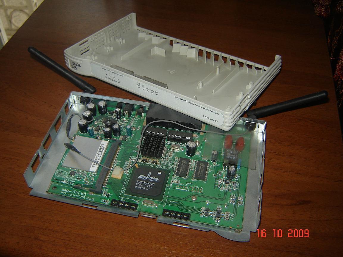 جهازي العزيز 3com Office Connect ADSL Wireless 108Mbps
