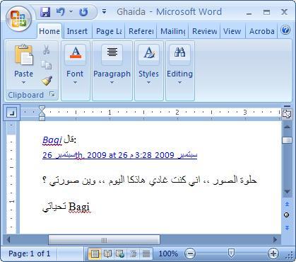 word-paste