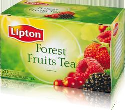 شاي لبتون بفواكه الغابة