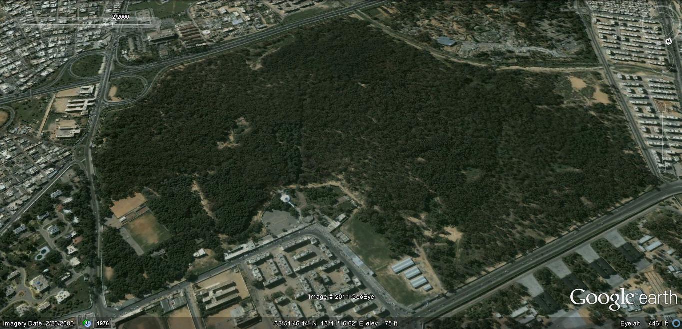 غابة النصر بطرابلس 2000