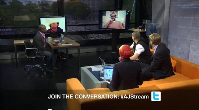 مشاركة مواضعة في برنامج Aljazeera Stream