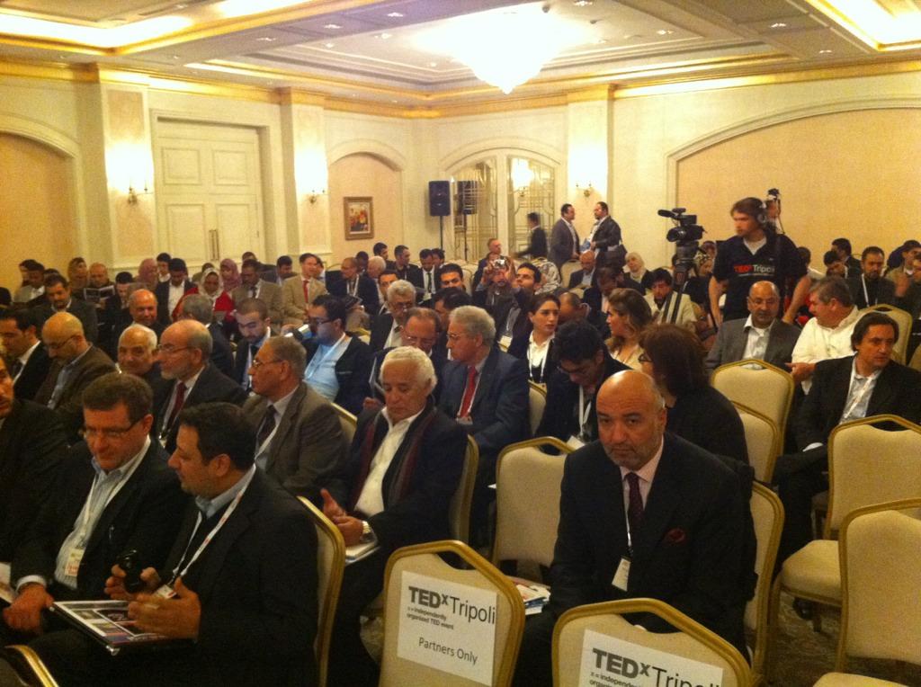 جانب من الحضور في المؤتمر