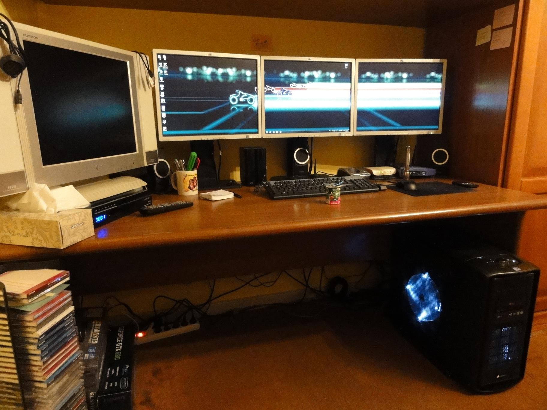 مكتبي الخاص بالمنزل وإنفيديا سرراوند
