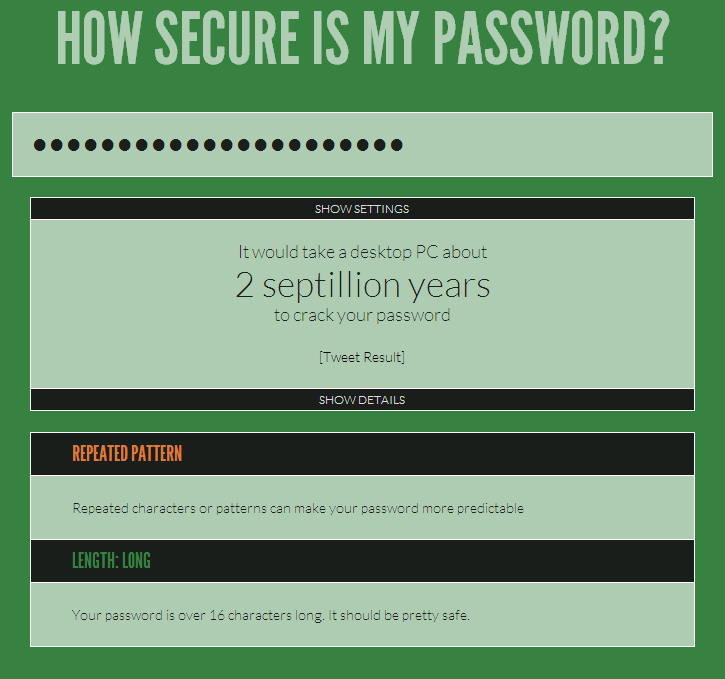 howsecurismypassword2