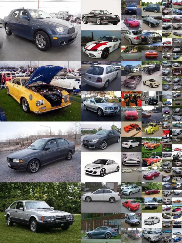 صور سيارات مولدة بواسطة ذكاء إصطناعي