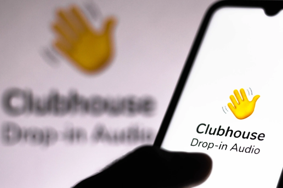 تطبيق clubhouse